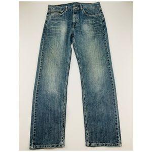Levi's Red Tab 505 Straight Cut Medium Wash Jeans